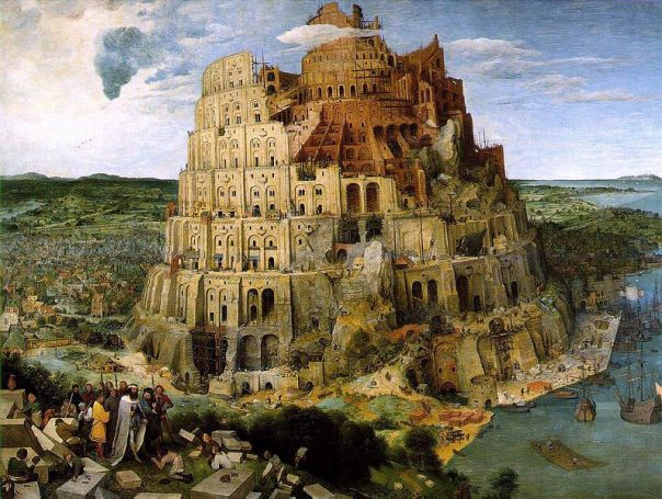 Tower of Babel. Pieter Bruegel. 1563.